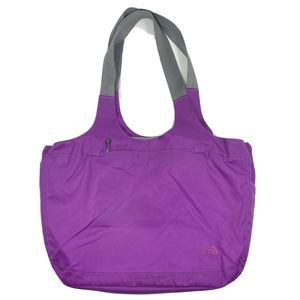 The North Face Talia Tote Bag Purple Convertible